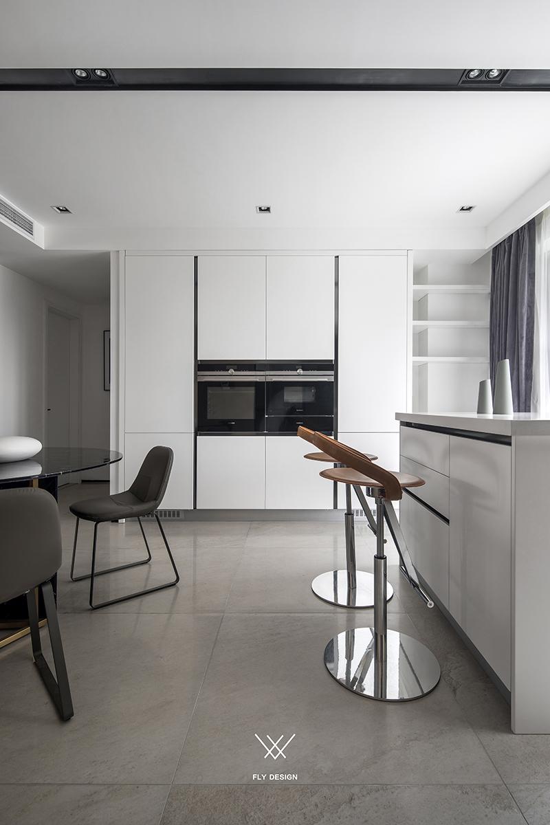 现代风格三居室吧台装修效果图