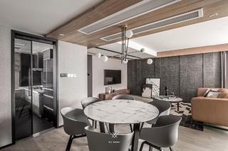 台式现代风餐厅装修效果图