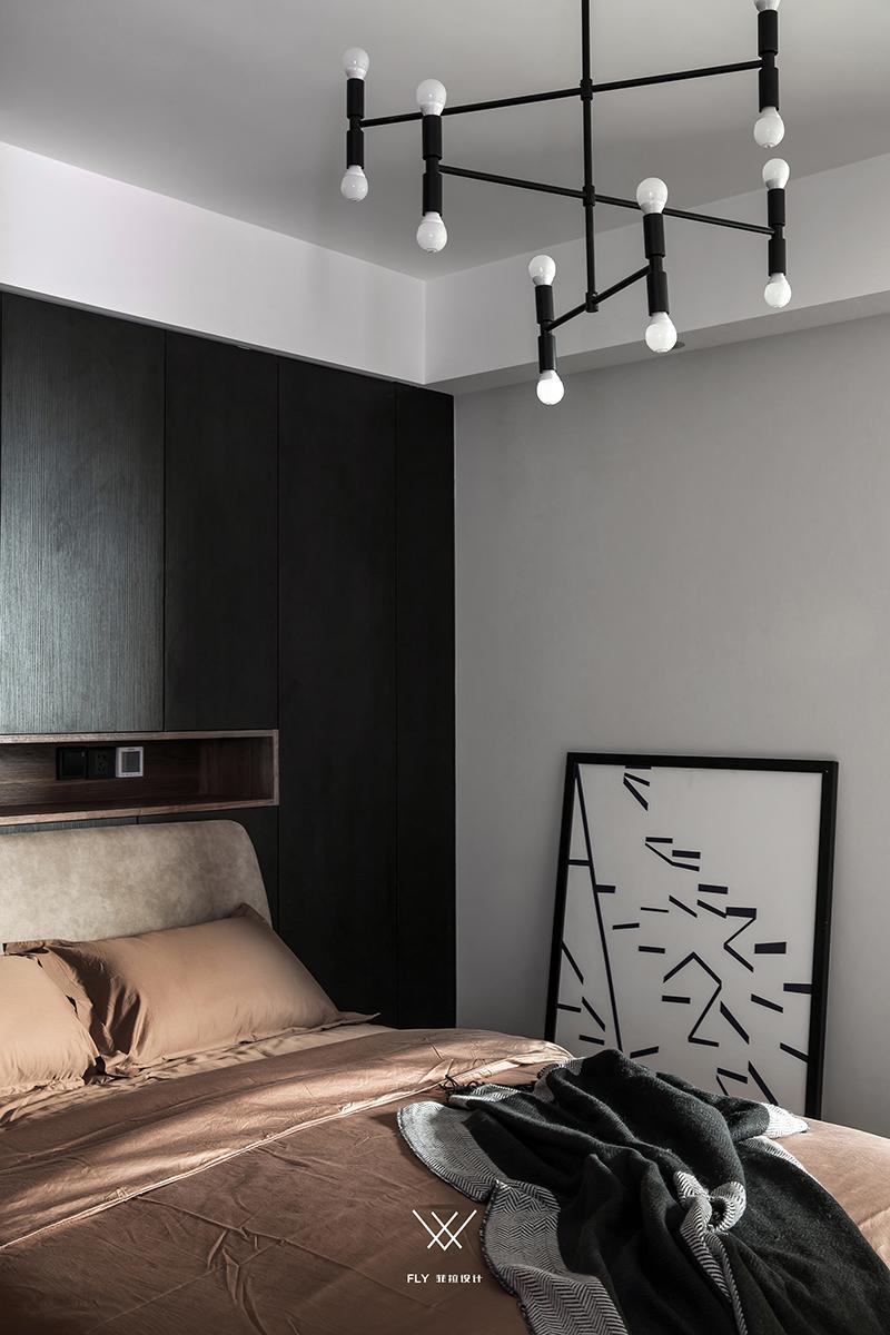 台式现代风卧室装修效果图