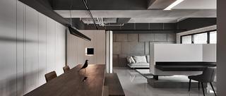 现代风三居餐厅装修效果图