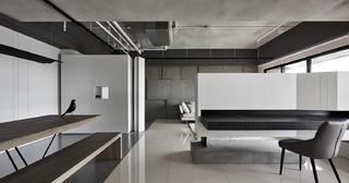 现代风三居装修书桌设计