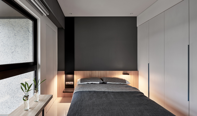现代风三居卧室装修效果图