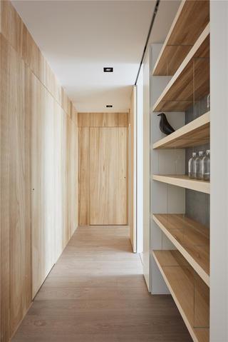 150㎡现代风格走廊装修效果图