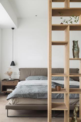 120平混搭風格裝修臥室隔斷設計