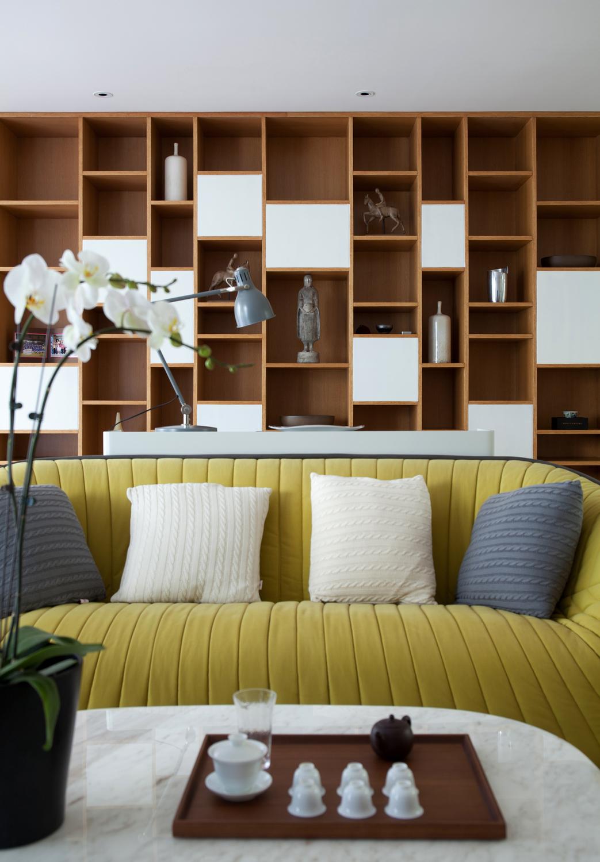 现代风别墅装修沙发设计图