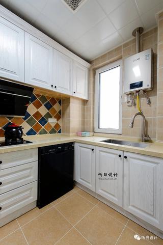 126㎡美式三居厨房装修效果图
