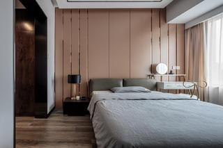 82㎡现代三居卧室装修效果图