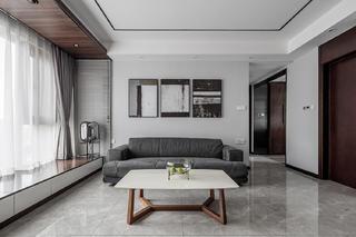 82㎡现代三居沙发背景墙装修效果图