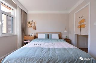 日式北欧三居卧室装修效果图
