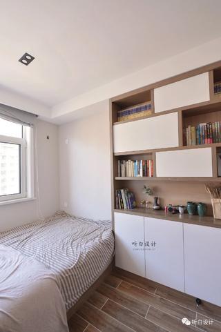 日式北欧三居书房装修效果图