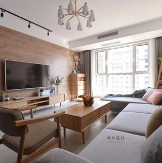 日式北欧三居装修效果图