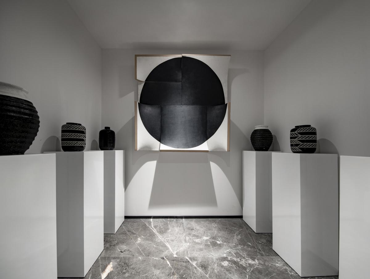 现代风格别墅艺术收藏室装修效果图