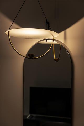 115㎡三居室装修吊灯设计