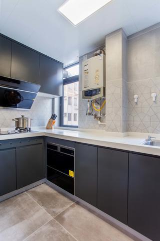 95平混搭三居室厨房装修效果图