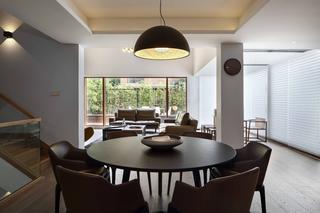 现代简约风别墅餐厅装修效果图