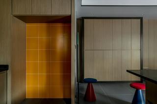 150㎡三居室装修储物柜设计