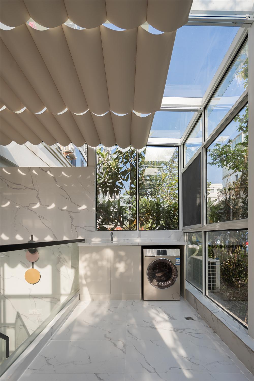 175㎡现代简约风格装修阳光房设计