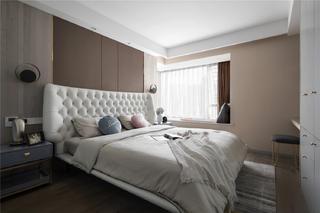 现代轻奢风三居卧室装修效果图