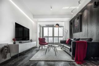 简约现代风格两居装修效果图