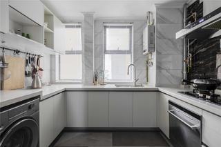 90平米混搭風格裝修廚房效果圖