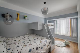 130㎡简约现代风格儿童房装修效果图