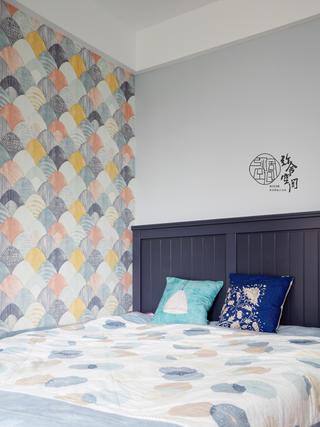 96平米三居室儿童房装修效果图