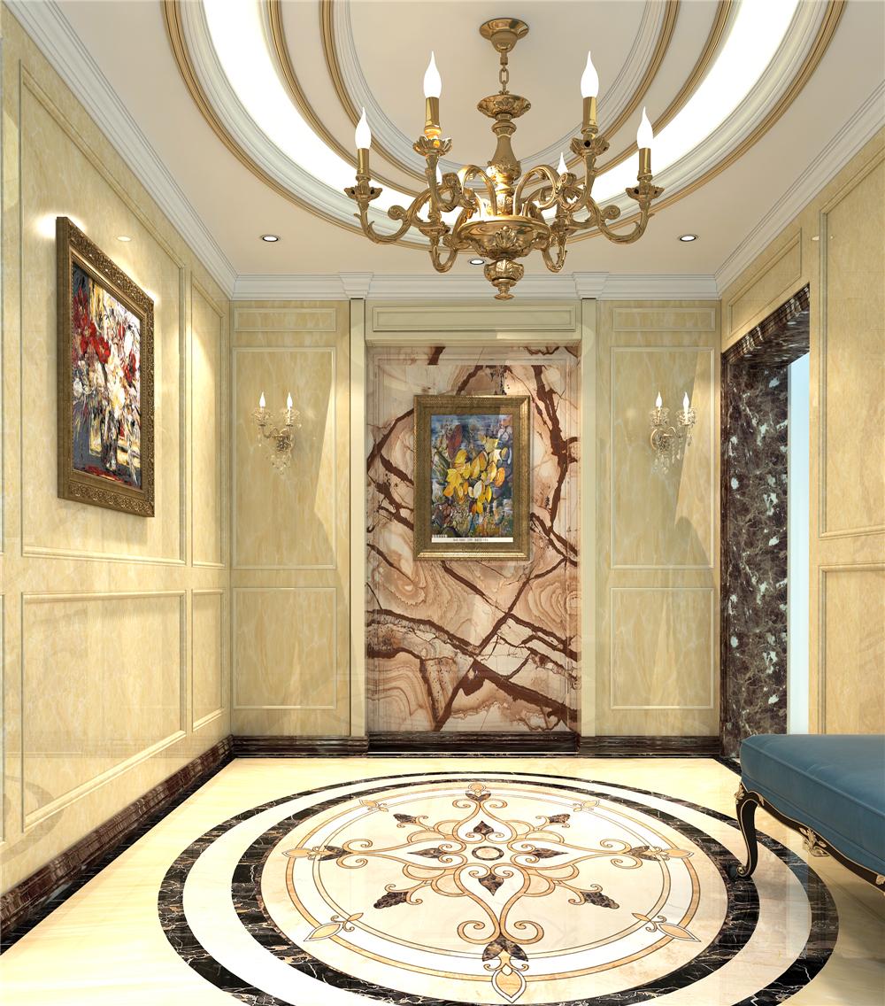 欧式风格别墅门厅装修效果图