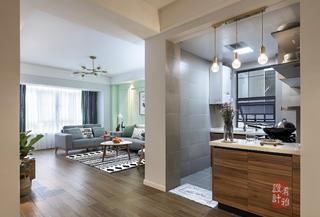 北欧风格三居室厨房每日首存送20