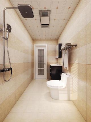 简欧风格三居卫生间装修效果图