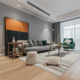 140平米三居室装修效果图