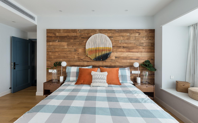 130㎡北欧风卧室装修效果图