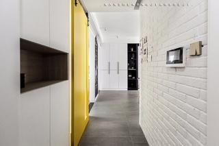 北欧风格三居室玄关装修效果图