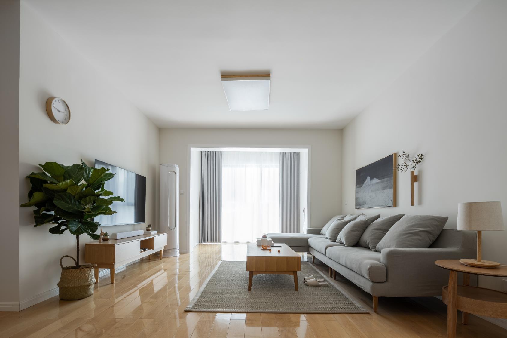 日式风格两居装修效果图