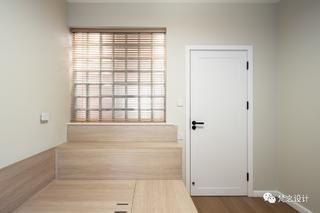 50㎡小户型两居装修榻榻米床设计