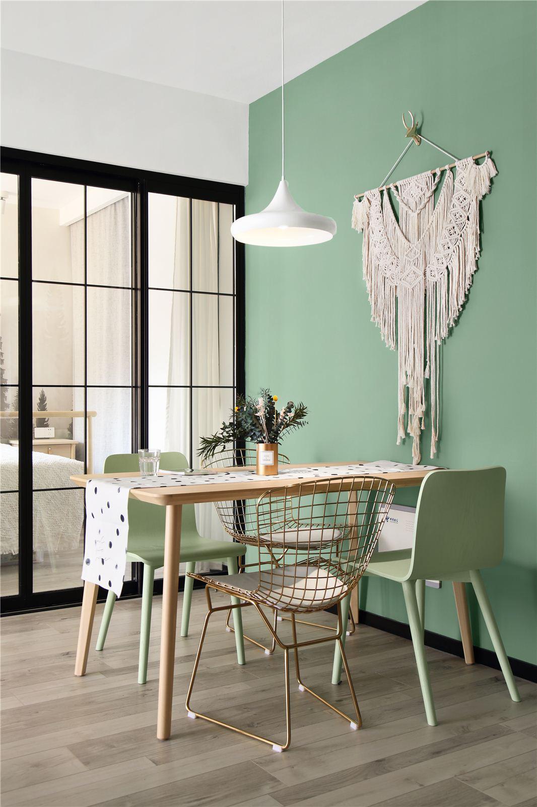 90平米两居室餐厅装修效果图