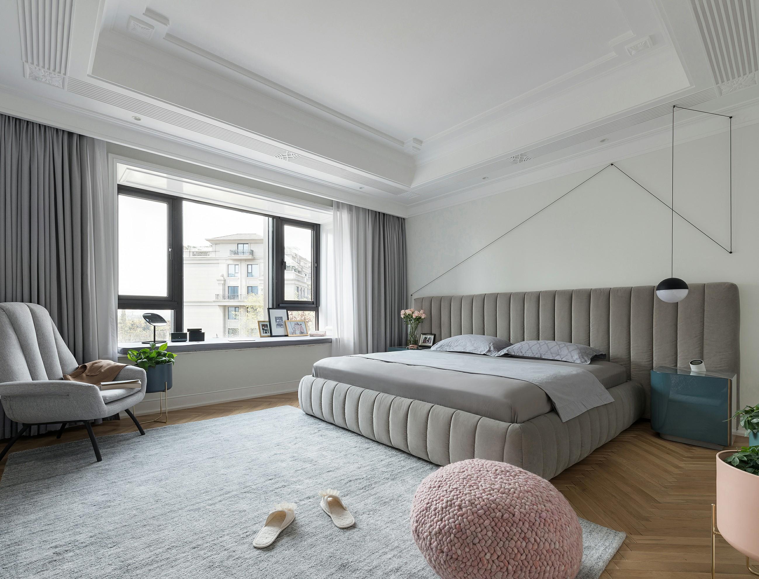 220㎡大户型卧室装修效果图