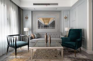 美式风格别墅客厅每日首存送20