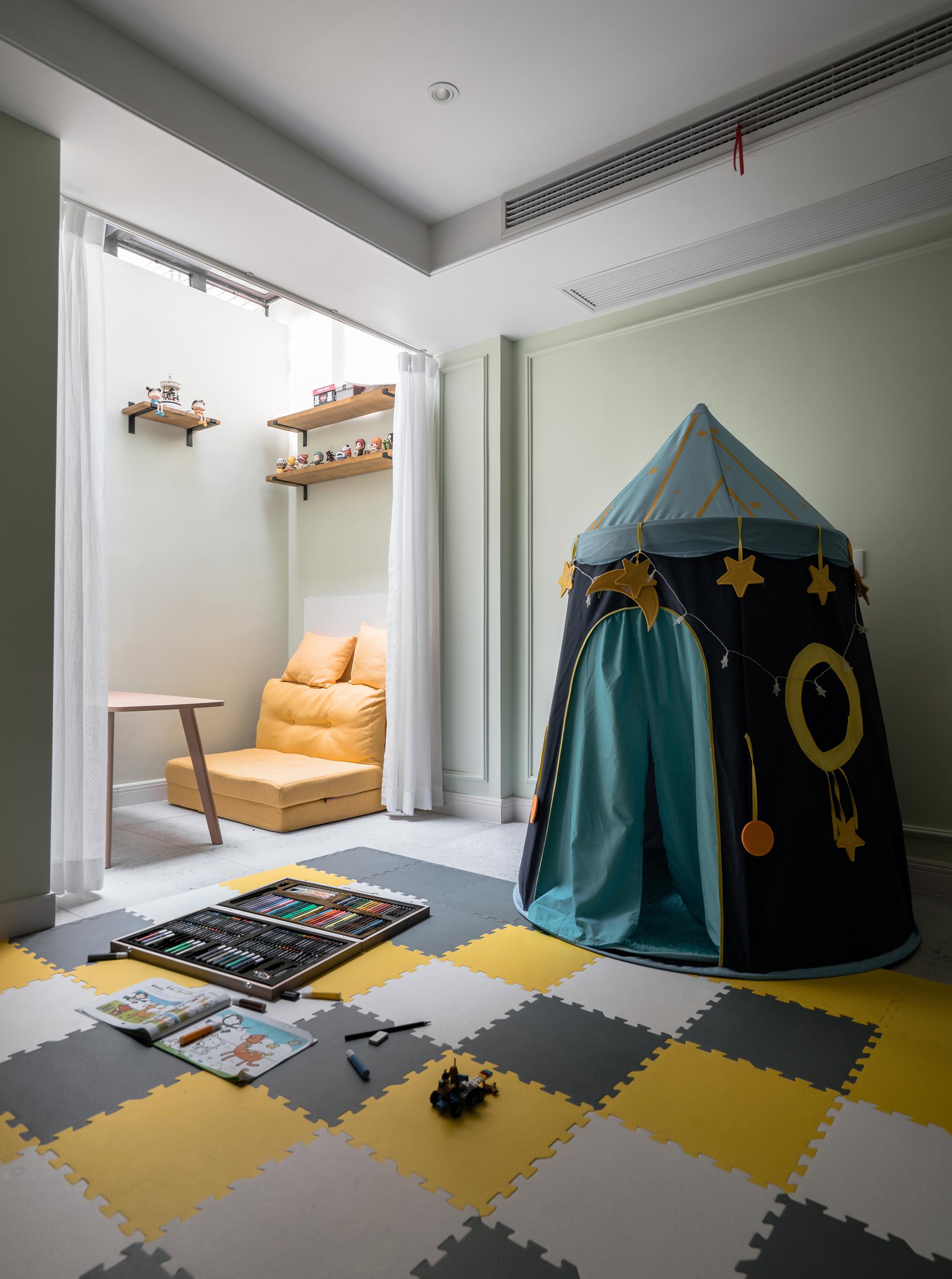 美式风格别墅儿童活动室装修效果图