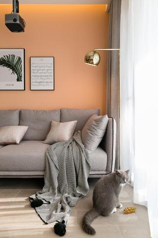 72㎡兩居室裝修沙發設計
