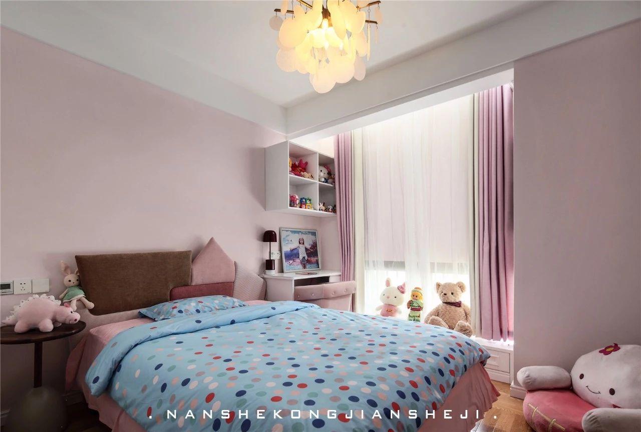 现代风别墅儿童房装修效果图