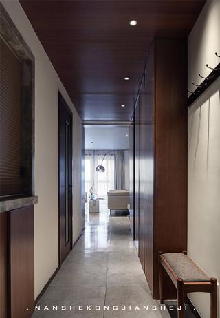 现代风别墅玄关装修效果图
