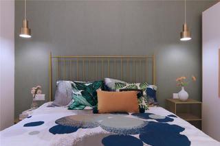 65㎡小户型卧室装修效果图