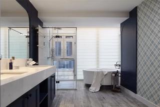 法式混搭别墅卫生间装修效果图