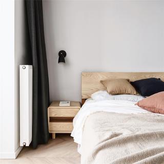 55㎡小户型两居装修卧室床头一角