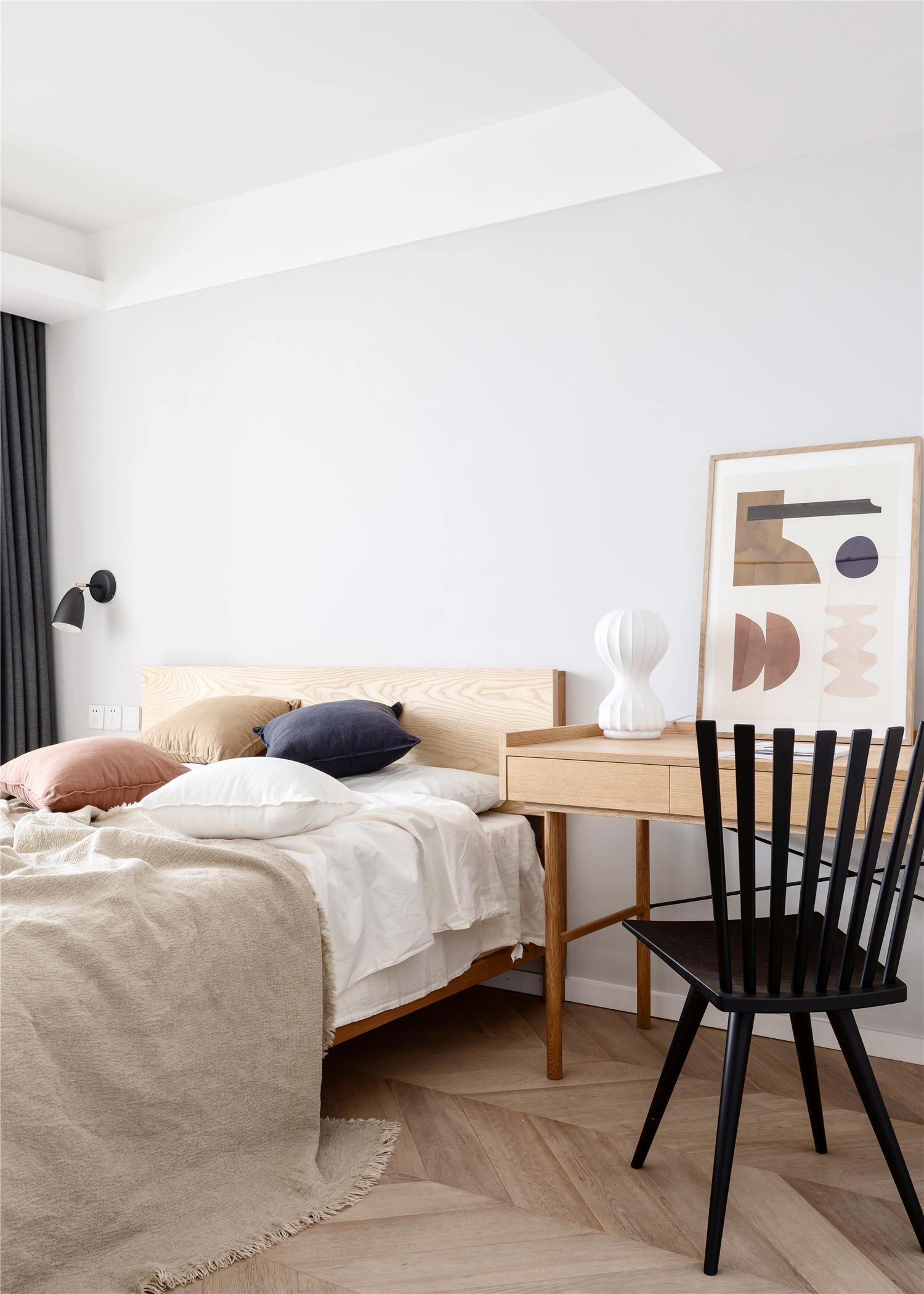 55㎡小户型两居卧室装修效果图