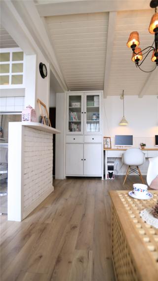 小户型北欧风装修书柜设计