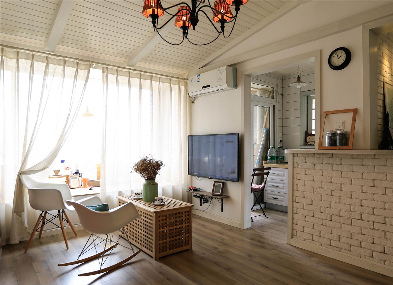 小户型北欧风客厅装修效果图