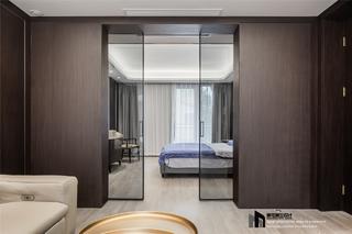 简约现代风别墅装修玻璃门设计