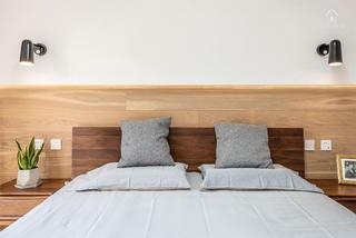 北欧风格三居床头背景墙装修效果图