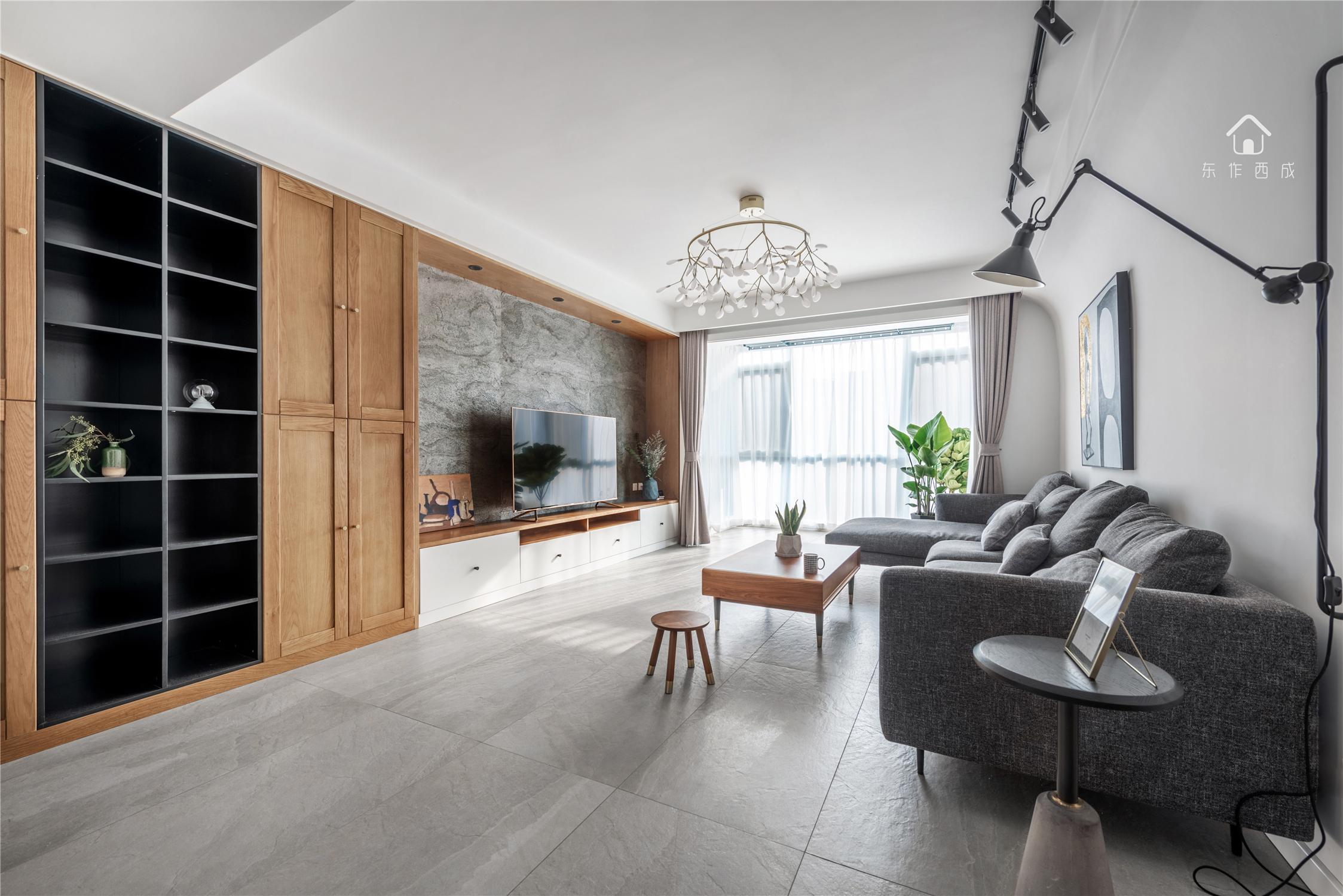 北欧风格三居客厅装修效果图